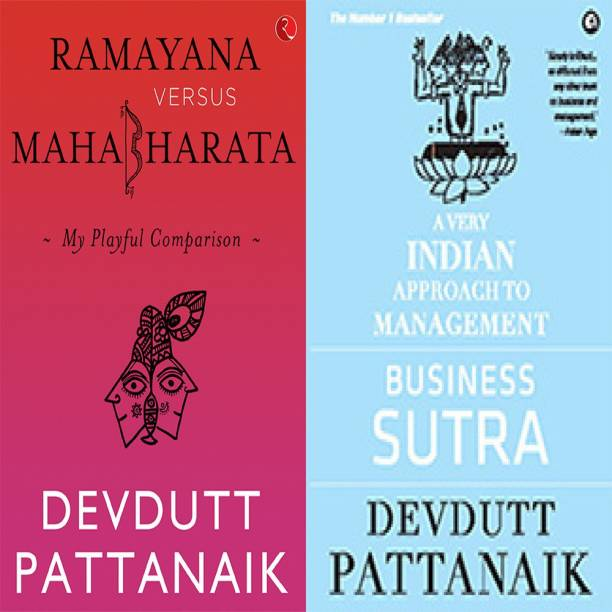 Business Sutra: A Very Indian Approach To Management + Ramayana Versus Mahabharata: My Playful Comparison (Set Of 2 Books)