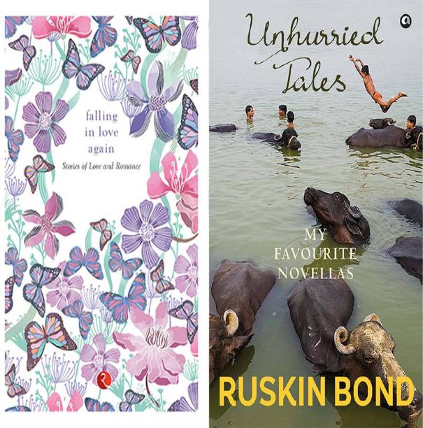Unhurried Tales: My Favourite Novellas + Falling In Love Again: Stories Of Love And Romance (Set Of 2 Books)