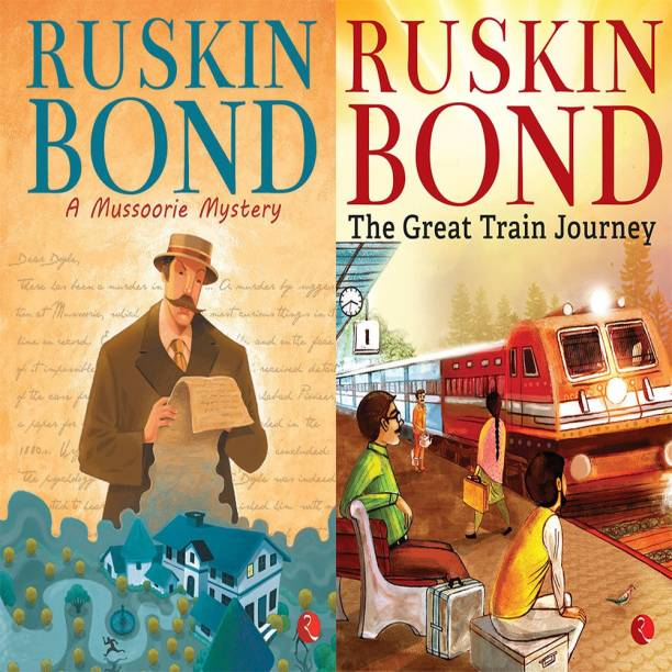 The Great Train Journey + Ruskin Bond A Mussoorie Mystery (Set Of 2 Books)