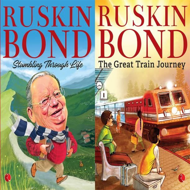 The Great Train Journey + Stumbling Through Life (Set Of 2 Books)