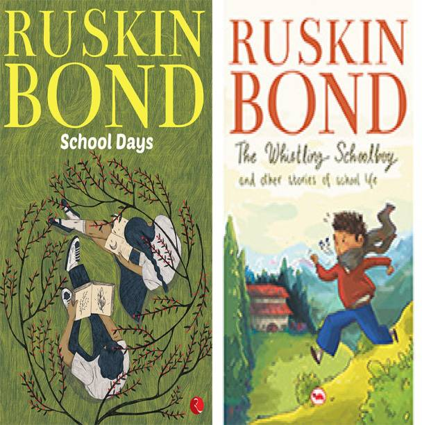 The Whistling Schoolboy And Other Stories Of School Life + Ruskin Bond : School Days (Set Of 2 Books)