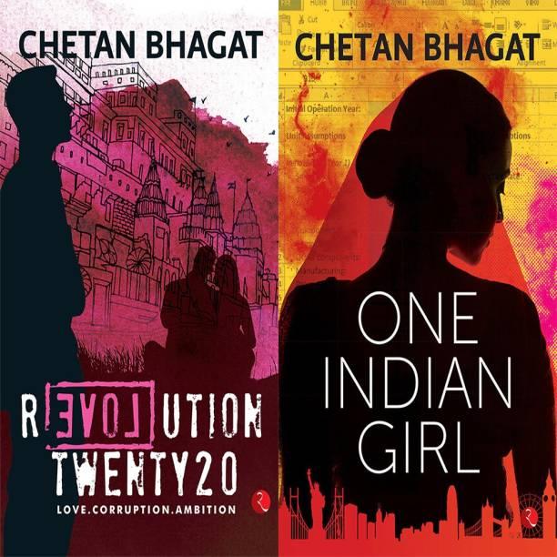 One Indian Girl + Revolution Twenty 20: Love. Corruption. Ambition (Set Of 2 Books)