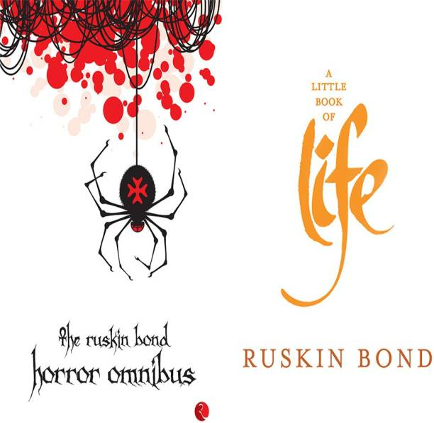 A Little Book Of Life + The Ruskin Bond Horror Omnibus (Set Of 2 Books)