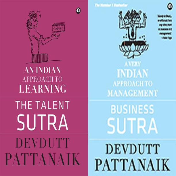 Business Sutra: A Very Indian Approach To Management + The Talent Sutra: An Indian Approach To Learning (Set Of 2 Books)