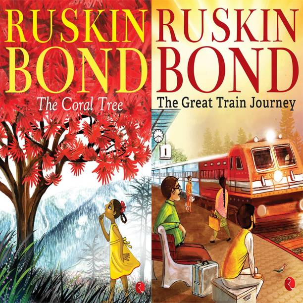 The Great Train Journey + The Coral Tree (Set Of 2 Books)