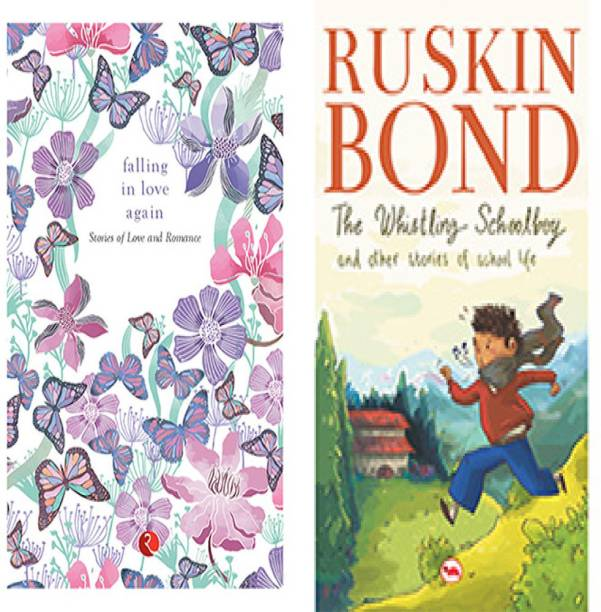 The Whistling Schoolboy And Other Stories Of School Life + Falling In Love Again: Stories Of Love And Romance (Set Of 2 Books)
