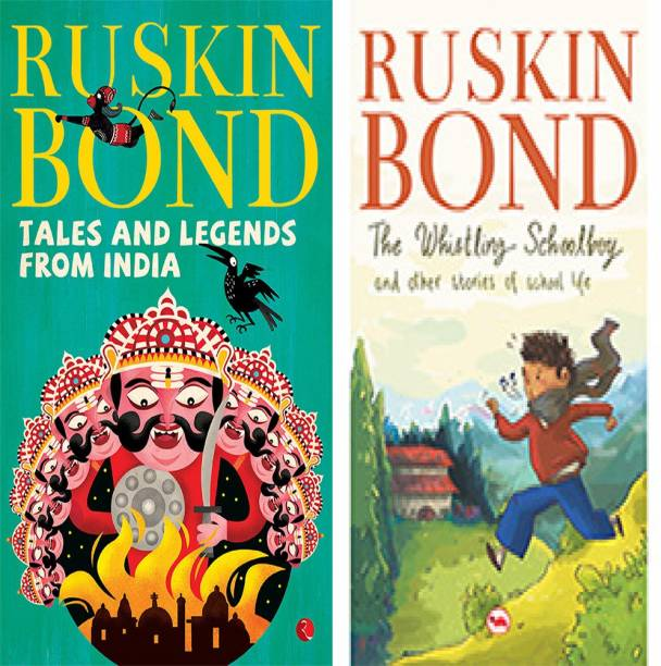 The Whistling Schoolboy And Other Stories Of School Life + Tales And Legends From India (Set Of 2 Books)