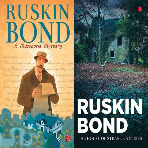 The House Of Strange Stories + Ruskin Bond A Mussoorie Mystery (Set Of 2 Books)