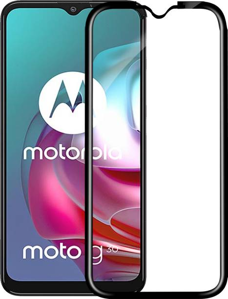 Knotyy Edge To Edge Tempered Glass for Motorola Moto G30, Moto G30, Motorola G30