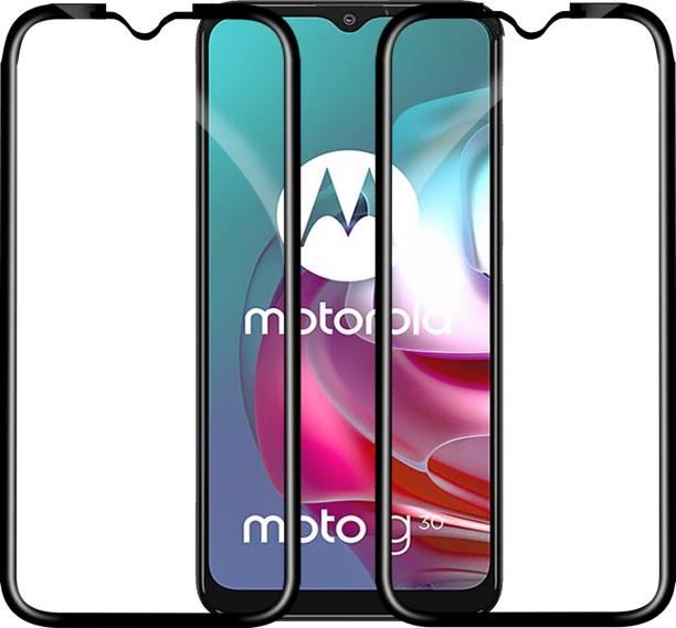 Knotyy Edge To Edge Tempered Glass for Motorola Moto G30