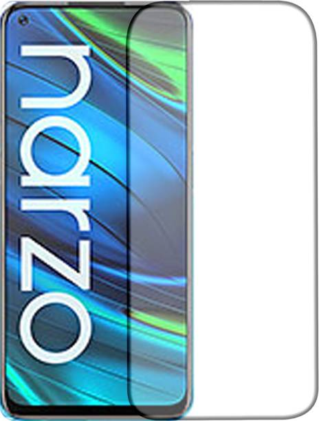 Knotyy Tempered Glass Guard for Realme Narzo 30 Pro