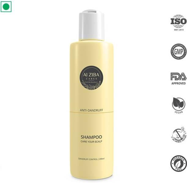 ALZIBA CARES Anti-dandruff shampoo for dandruff control - 200ml