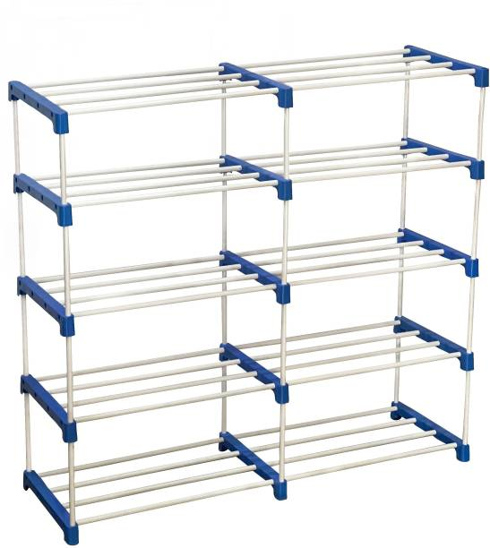 CMerchants BOOK SHELF-10RACK Metal Open Book Shelf