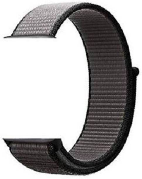 Big Wings Soft Lightweight Breathable Nylon Loop Sport Strap Band Smart Watch Strap