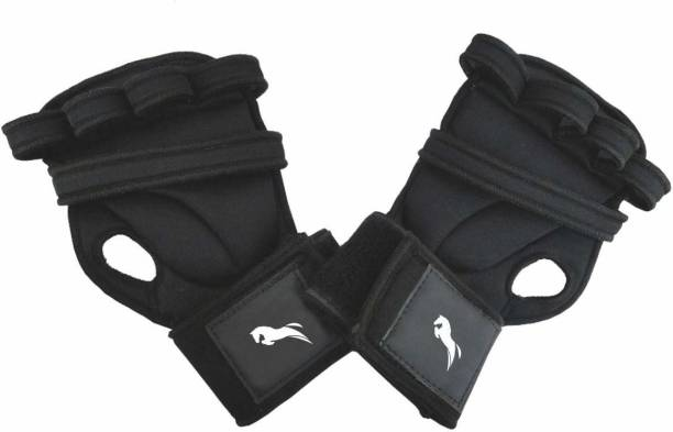 Just Rider Grip Gym Gloves for Weight Lifting Gym Gloves Fitness Training Gym Gloves Gym & Fitness Gloves