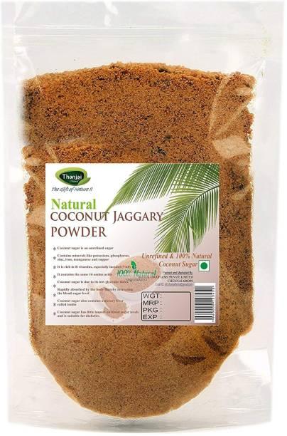 Thanjai iyerkai Coconut Sugar|Coconut Jaggery Powder 500g 100% Pure Natural Unrefined Traditional Method Made Sugar