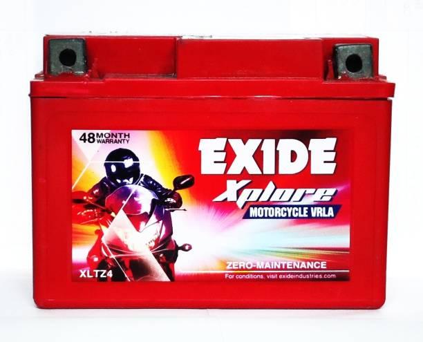 EXIDE xltz4 4ah 3 Ah Battery for Bike