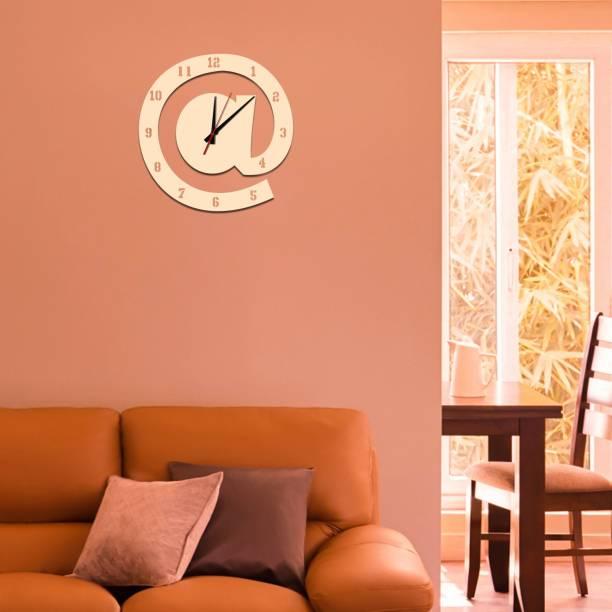 gateffo Analog 28 cm X 28 cm Wall Clock