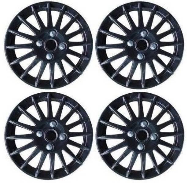 Ubom Sporty Matte Black Wheel Cover Wheel Cover Wheel Cover For Maruti Ciaz