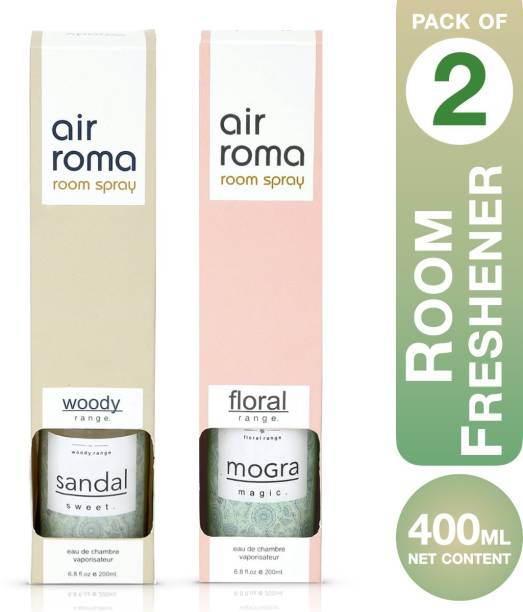 Airroma Sandal Sweet, Mogra Magic Spray, Aroma Oil