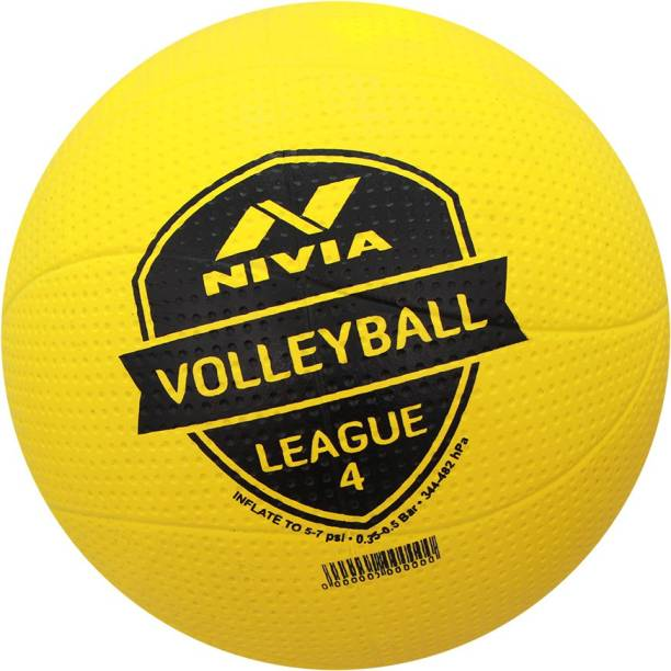 NIVIA League Moulded Volleyball - Size: 4