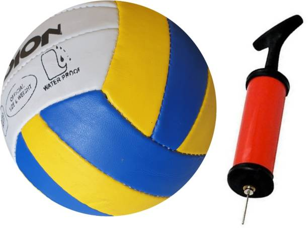 radion RVK002 CLASSIC PU supervollyball with air pump Volleyball - Size: 5