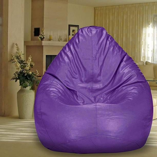 SHIRA 24 Large Tear Drop Bean Bag Cover  (Without Beans)