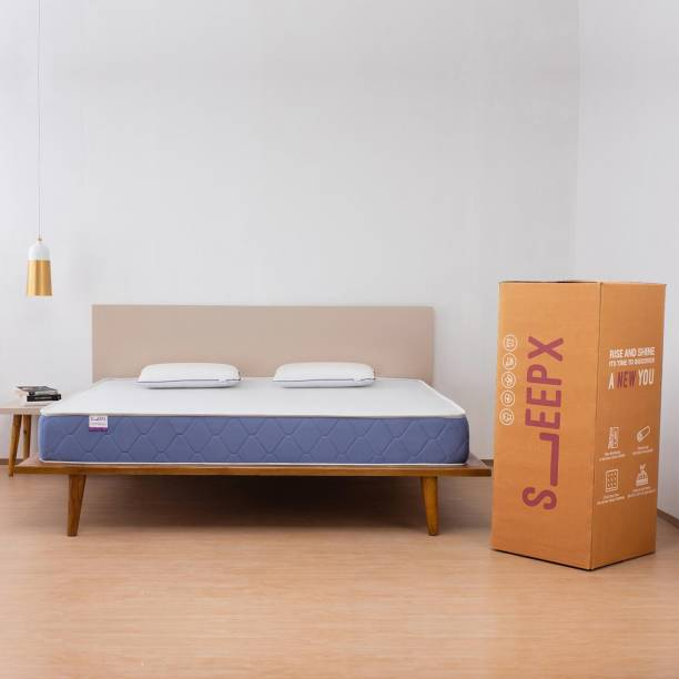 SleepX Ortho Cool Gel 6 inch King Memory Foam Mattress