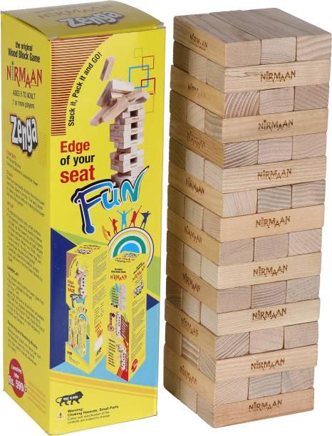 Uttam Toys Nirmaan the original Wood Block Game