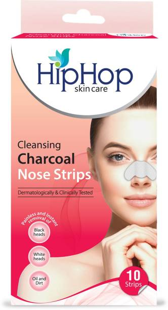 Hip Hop Skin Care Charcoal Blackhead Remover Nose Strips
