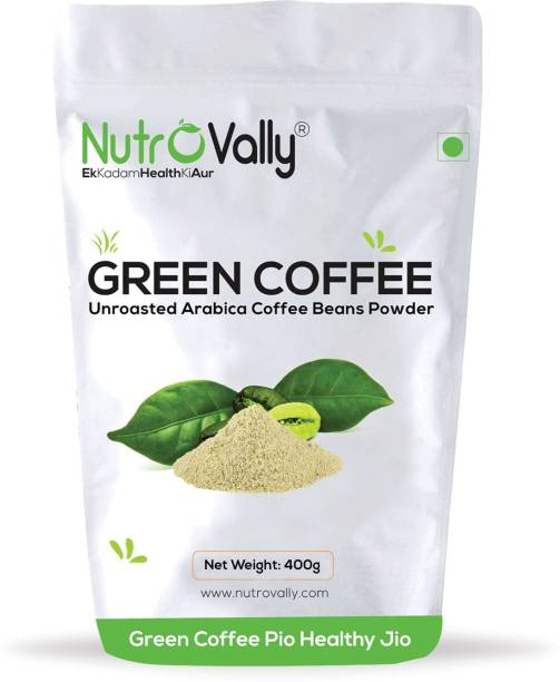 NutroVally Green Coffee Beans Powder for Weight Loss/Fat Burner Instant Coffee