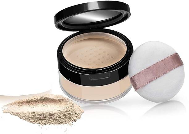 EVERERIN HD Pro Face Matte Oil-control Pressed Compact Loose Powder Compact