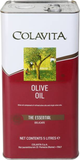 Colavita 100% Authentic Italian Pure olive oil Olive Oil Tin