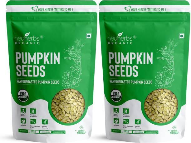 Neuherbs Raw Pumpkin Seeds - Protein and Fiber Rich Superfood