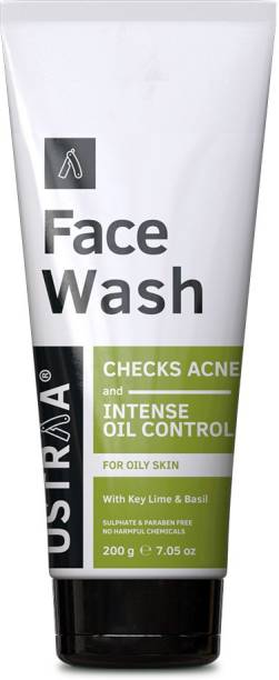 USTRAA Oily Skin (Checks Acne & Oil Control) 200g Face Wash