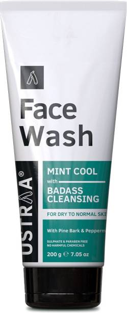 USTRAA Dry Skin (Mint Cool)  - 200 g Face Wash