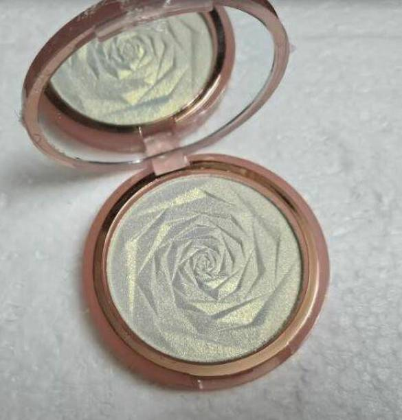 MirrorKitty Huda Beauty N.Y.M.P.H. All Over Highlighting Powder-Silver Highlighter