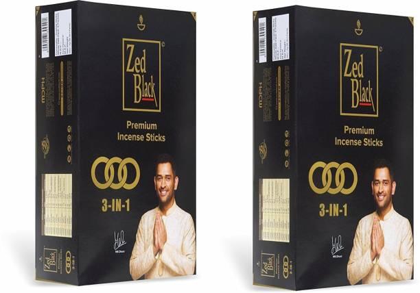 Zed Black 3 –in-1 Premium Religious Purpose - Pack of 2 3 in 1