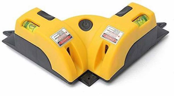 AncientKart Laser Level Line Laser Measure 90 degree Right Angle tape Non-magnetic Electronic Level