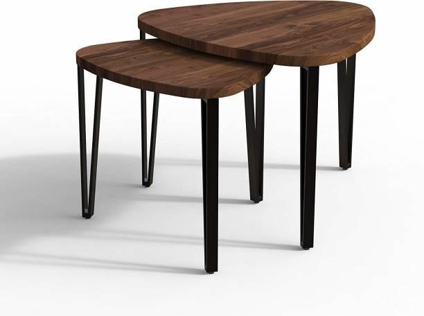 DecorNation Engineered Wood Nesting Table
