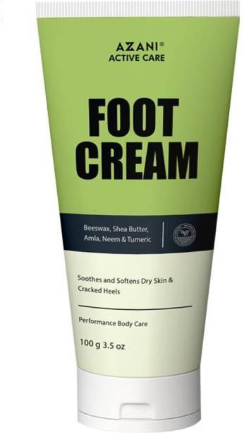 Azani Active Care Foot Care Cream For Rough, Dry and Cracked Heel | Feet Cream For Heel Repair |Healing & softening cream