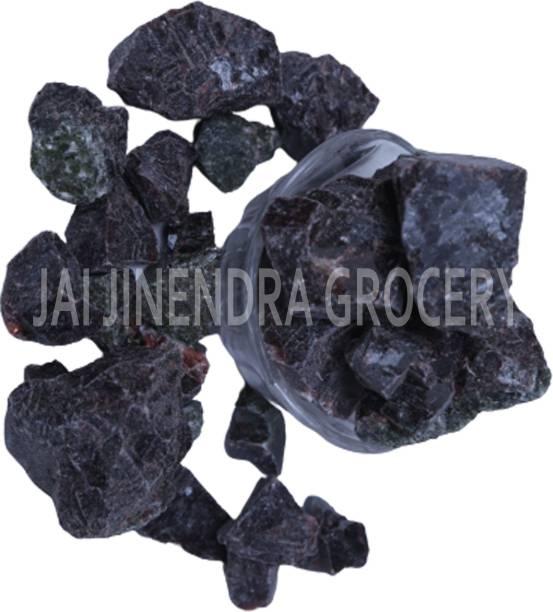 Jai Jinendra Spices & Masale Black Salt Kala Namak Whole Crystal 500 gm Black Salt