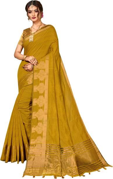 Pisara Woven Chanderi Cotton Silk Saree