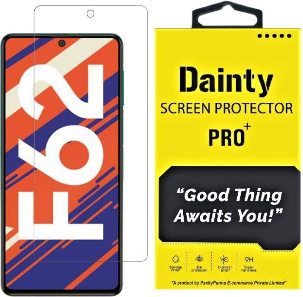 Dainty TECH Tempered Glass Guard for Samsung Galaxy F62, Samsung Galaxy M51, Samsung Galaxy A71, Samsung Galaxy Note 10 Lite