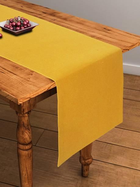 Flipkart SmartBuy Yellow 152 cm Table Runner