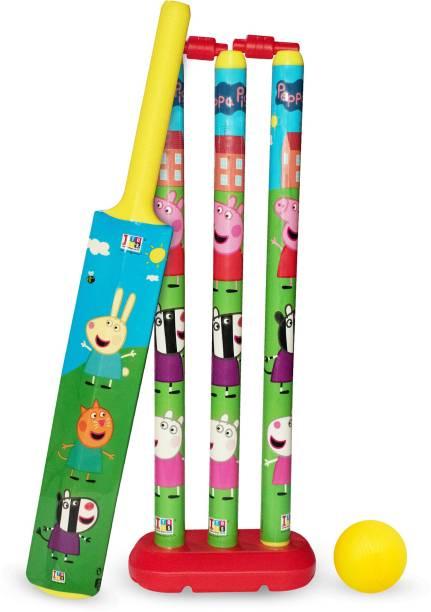Peppa Pig cricket set no 3 for kids Cricket Kit