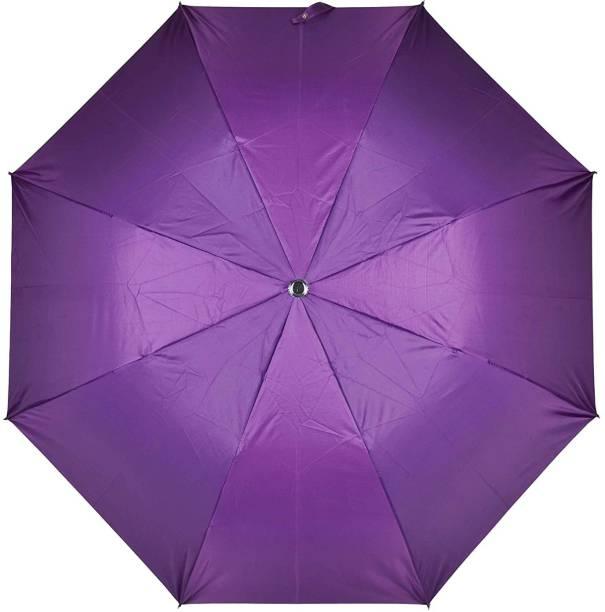 Fendo Yardley 2 Fold Purple Color Umbrella Umbrella