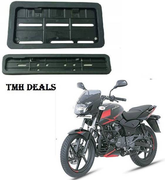 TMH PULSAR 180 HIGH SECURITY NUMBER PLATE COVER Bike Number Plate
