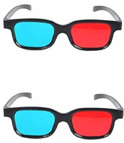 RingTel Updated Version ( 2 Pcs Pack ) Video Glasses (Black) Video Glasses