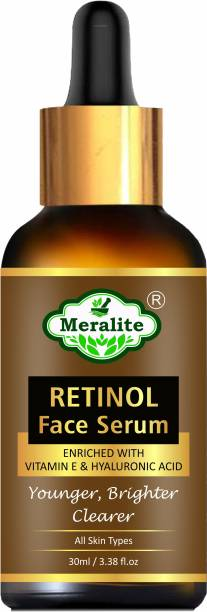 Meralite Retinol Face Serum for Natural Glowing Beauty
